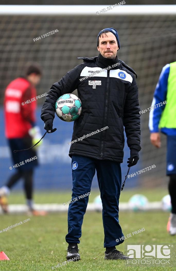 Imagen: coach Christian Eichner (KSC). GES / Football / 2. Bundesliga: Karlsruher SC - Training, 01/26/2021 Football / Soccer: 2.