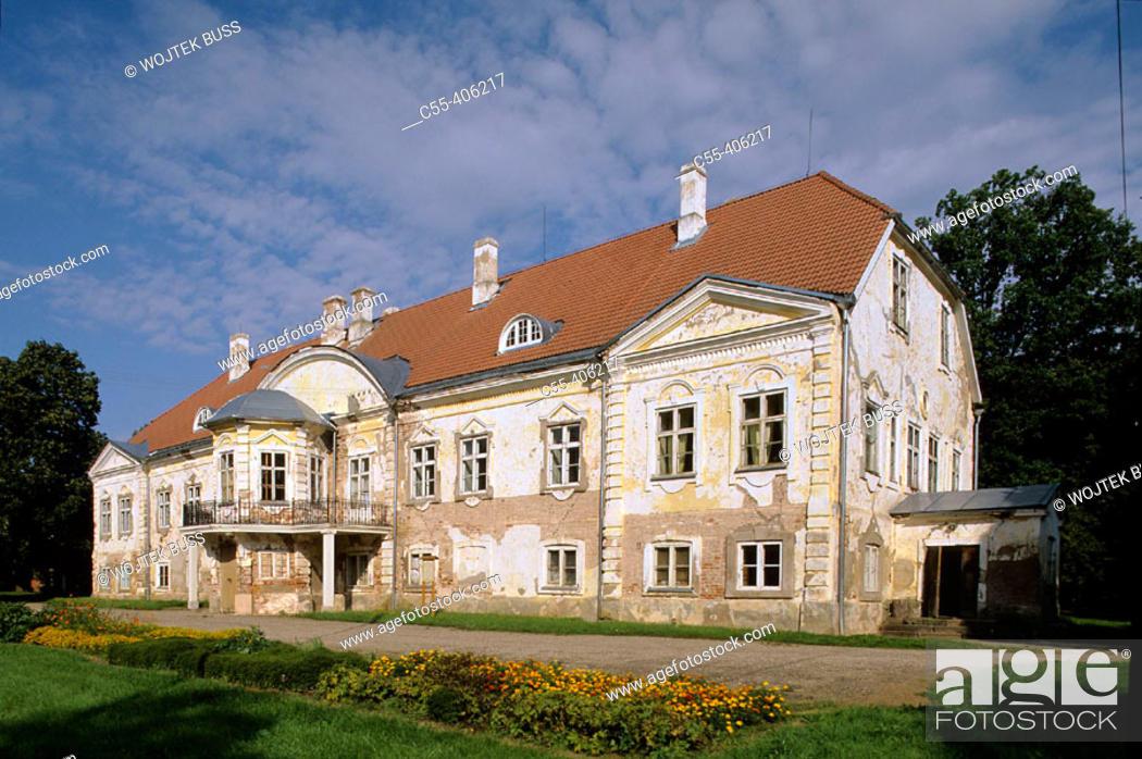Stock Photo: Manor (1740-1749). Ahja. Estonia.