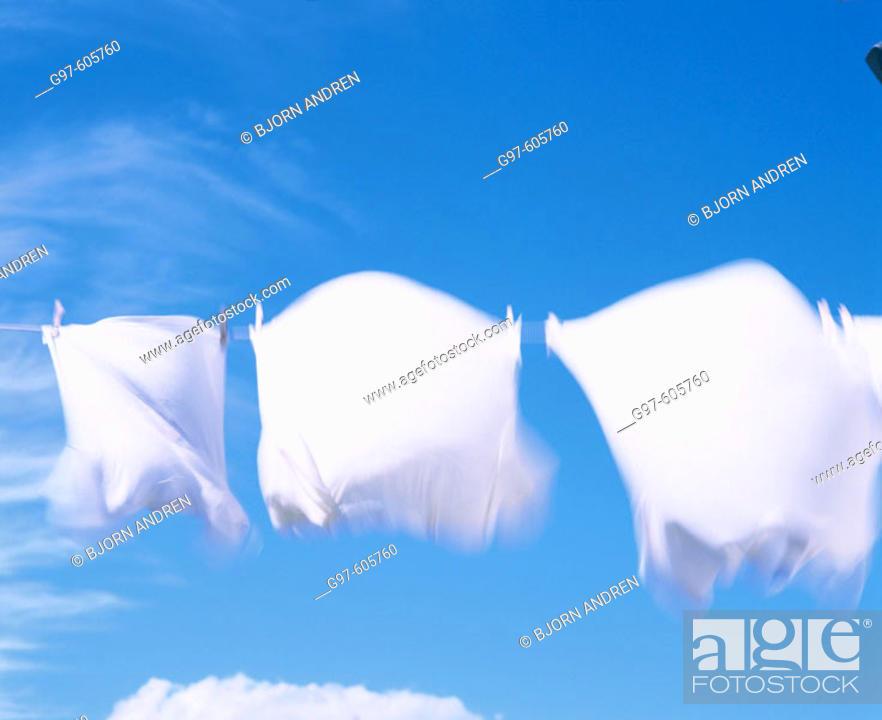 Stock Photo: Laundry.