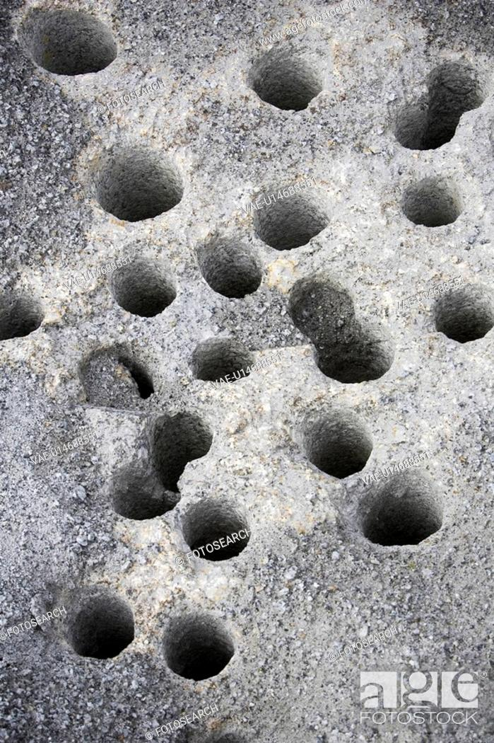 Stock Photo: Holes, Art, Granules, Day, Close-Up, Appearance.