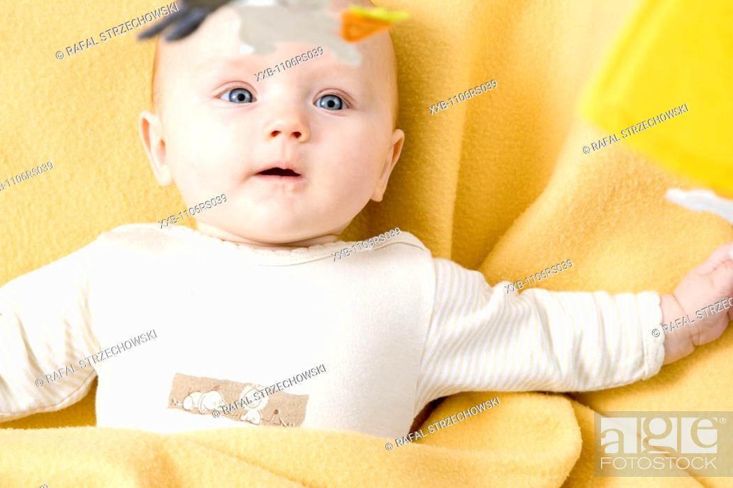 Stock Photo: sweet baby.
