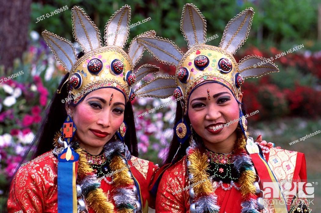 Stock Photo: Kathmandu, Classical Dancers.