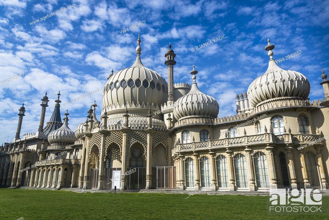 Photo de stock: Royal Pavilion, Brighton, England, UK.