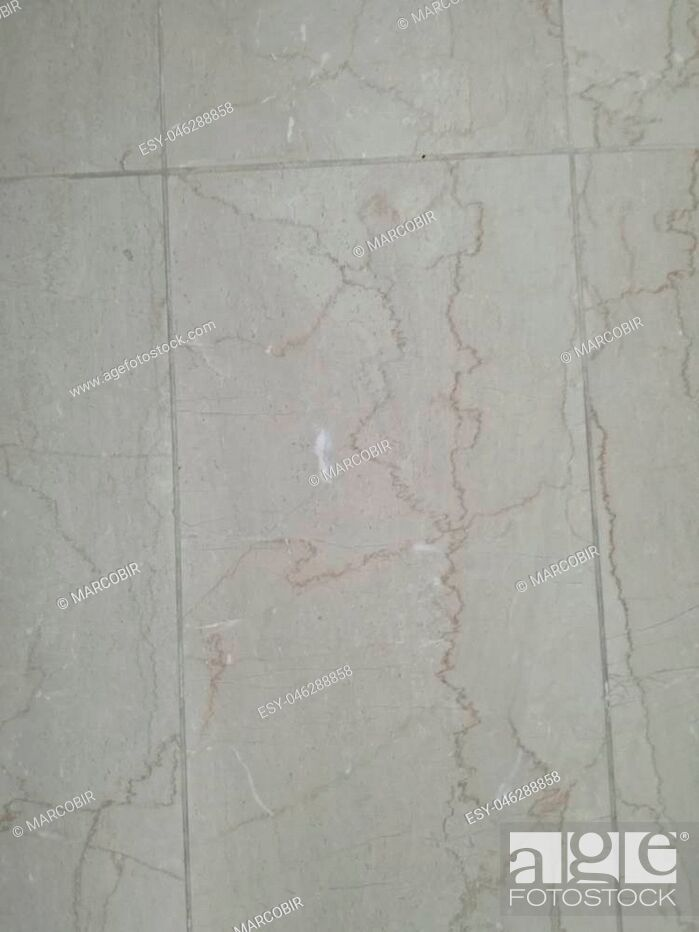 Stock Photo: Marble texture on marbled tile surface.