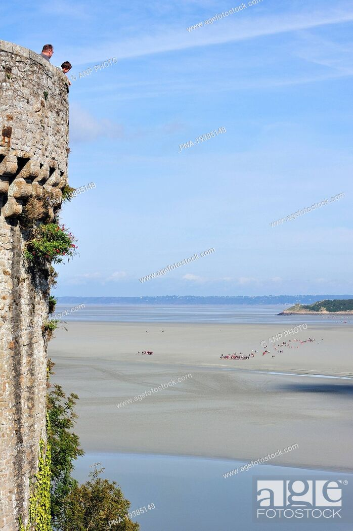 Imagen: Le Mont Saint-Michel, Manche, Normandy, Basse-Normandie, France, Europe.