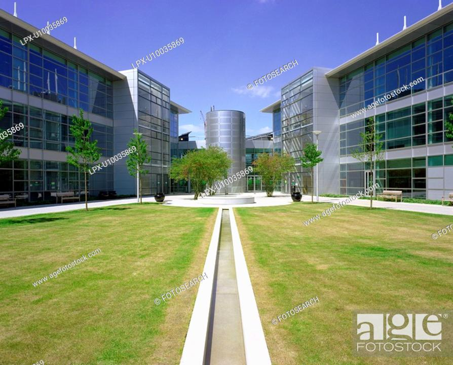 Stock Photo: Office building, business park.