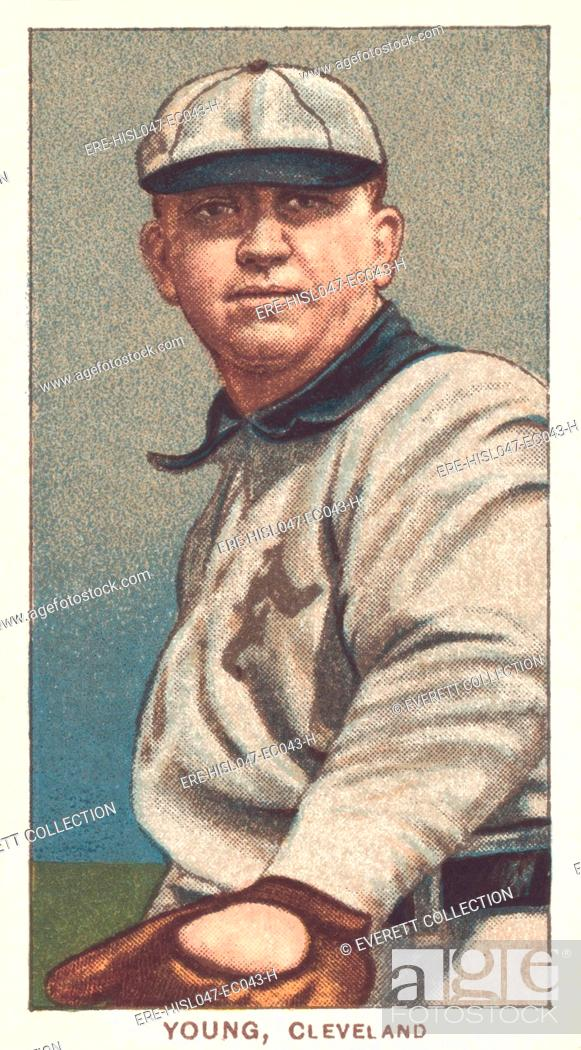 Cy Young Baseball Card 1909 1911 When He Played For The