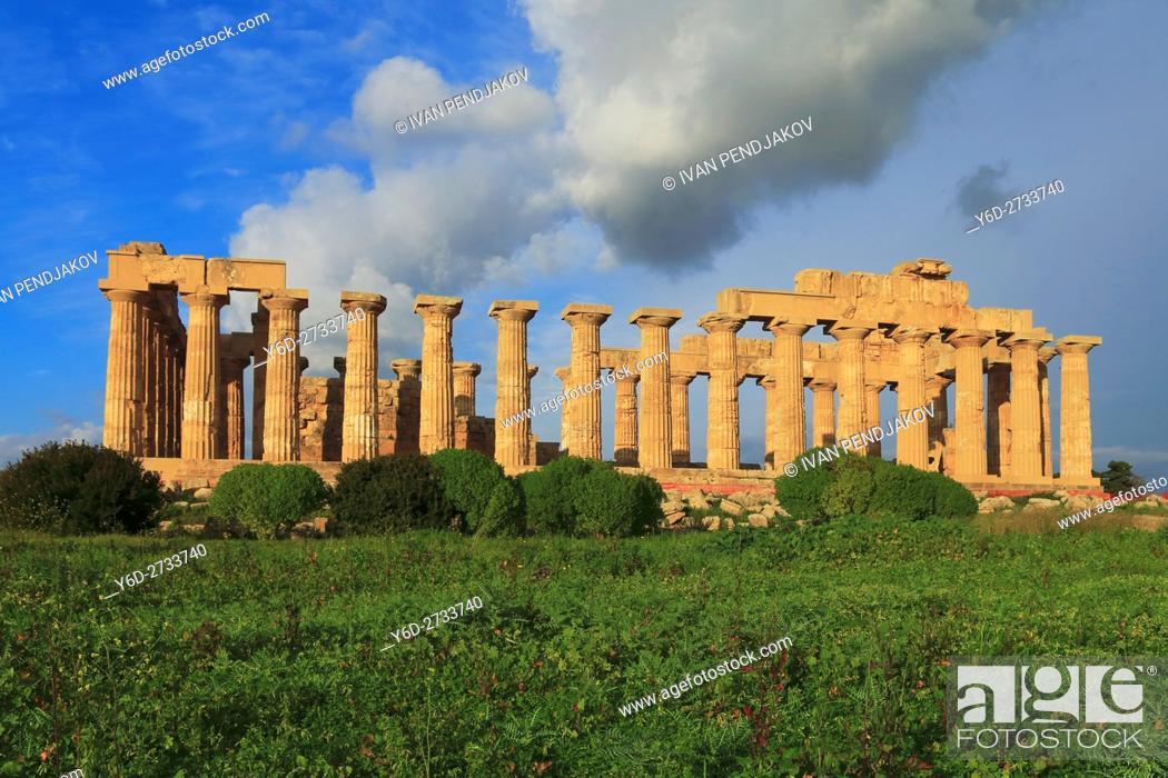 Imagen: Temple of Hera, Selinunte, Sicily, Italy.