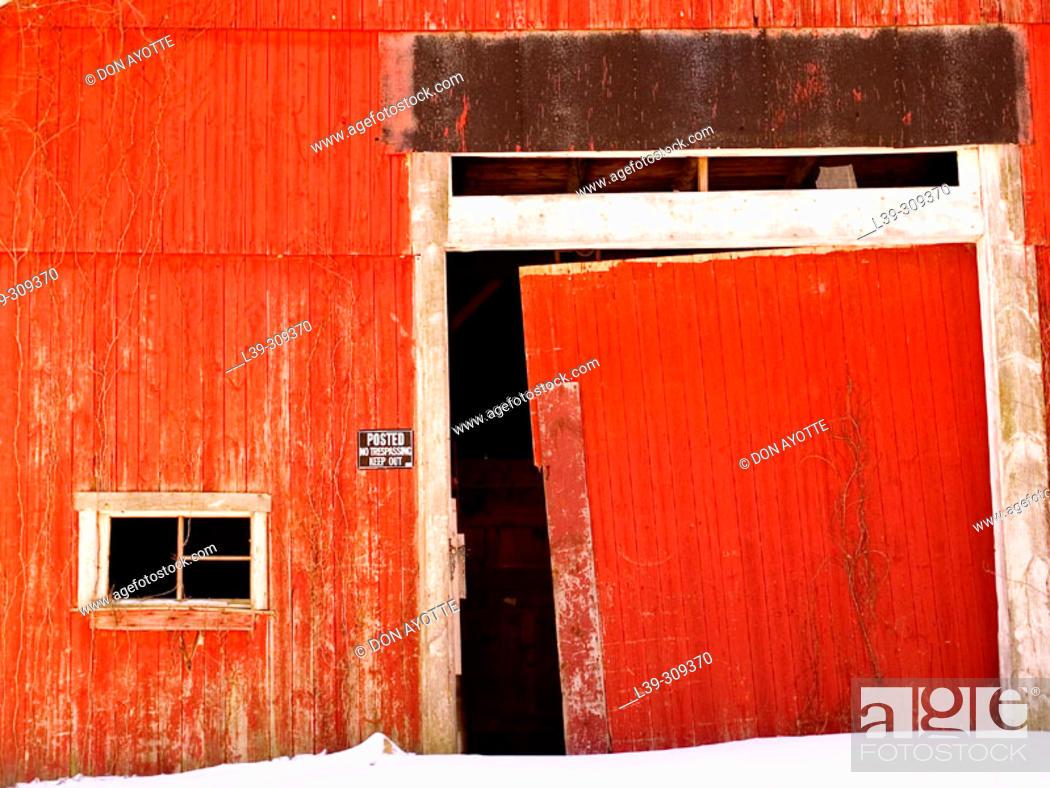 Stock Photo: Barn.