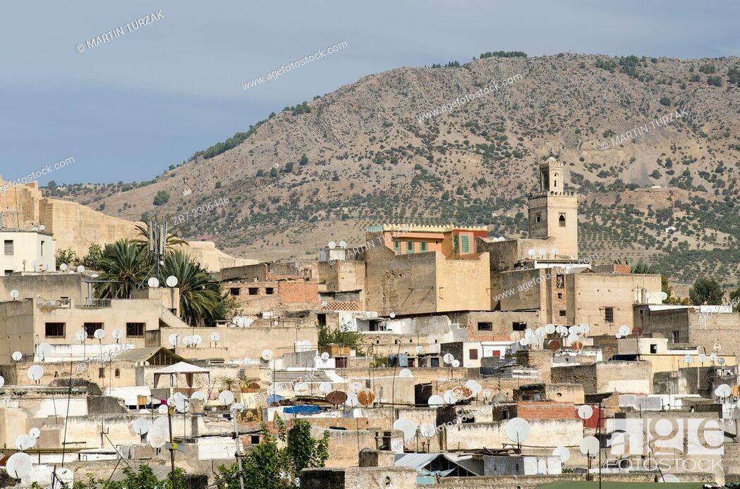 Stock Photo: View of Fes medina, Morocco.