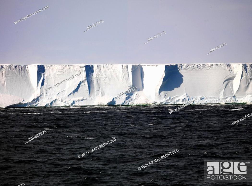 Imagen: Edge, Ross Ice Shelf, Antarctica.