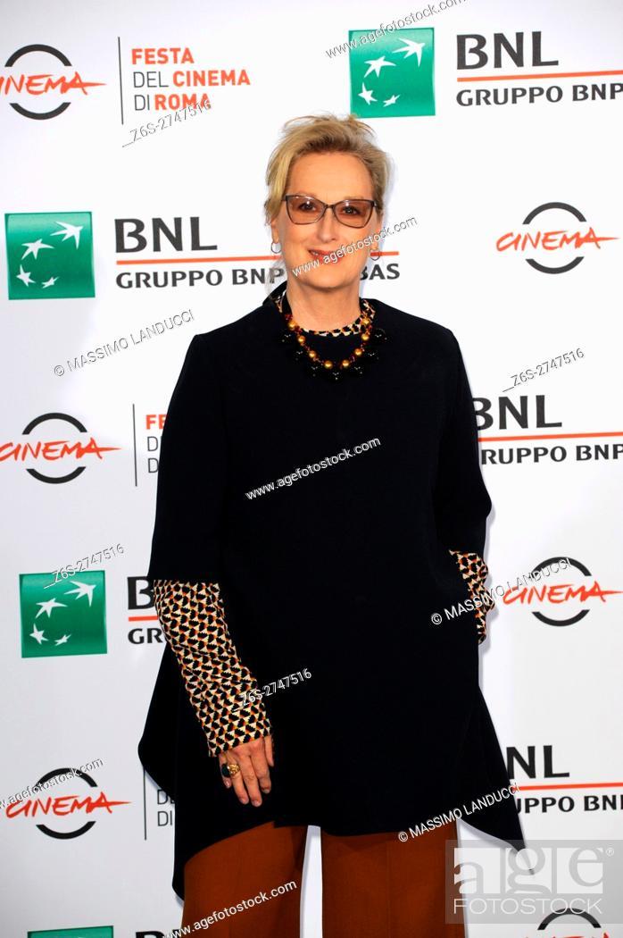 Imagen: meryl streep;streep; actress; celebrities; 2016; rome; italy; event; photocall ; florence; rome film festival.