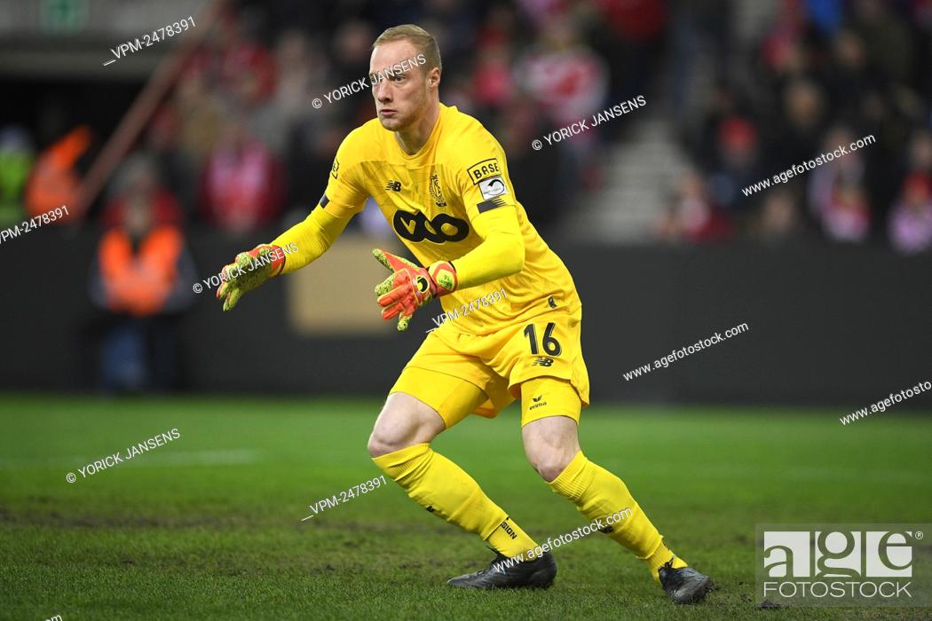 Standard s Goalkeeper Arnaud Bodart Pictured In Action During A Soccer Match Between Standard De Stock Photo Picture And Rights Managed Image Pic VPM Agefotostock