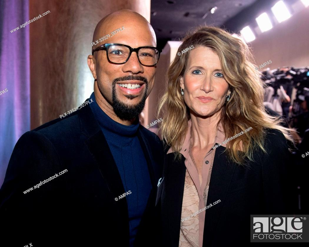 857fbad4179d Stock Photo - Oscar® nominee Common and Laura Dern at the Oscar Nominee  Luncheon held at the Beverly Hilton