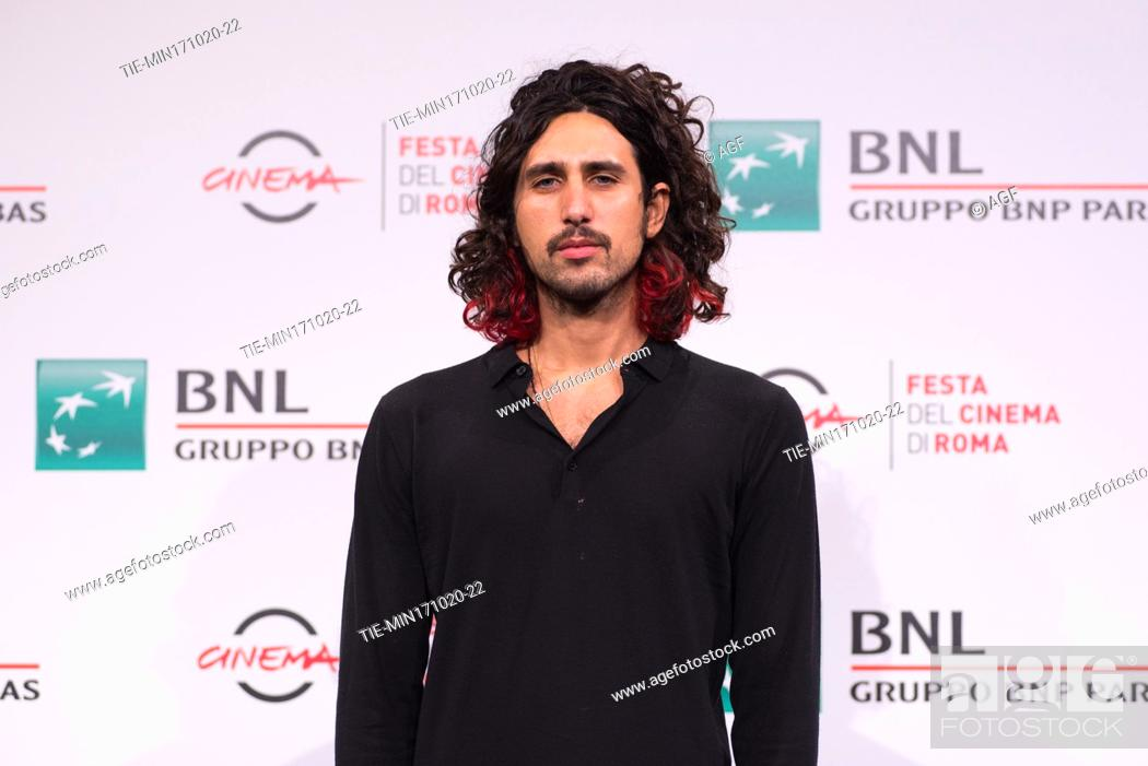 """Stock Photo: Gipo Fasano attends the photocall of the movie """"""""Le Eumenidi"""""""" during the 15th Rome Film Festival on October 17, 2020 in Rome, Italy."""