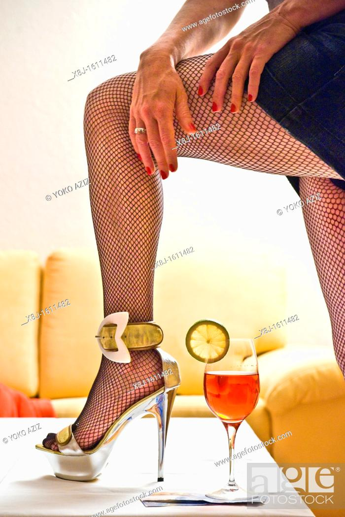 Stock Photo: Prostitution, Canton Ticino, Switzerland.