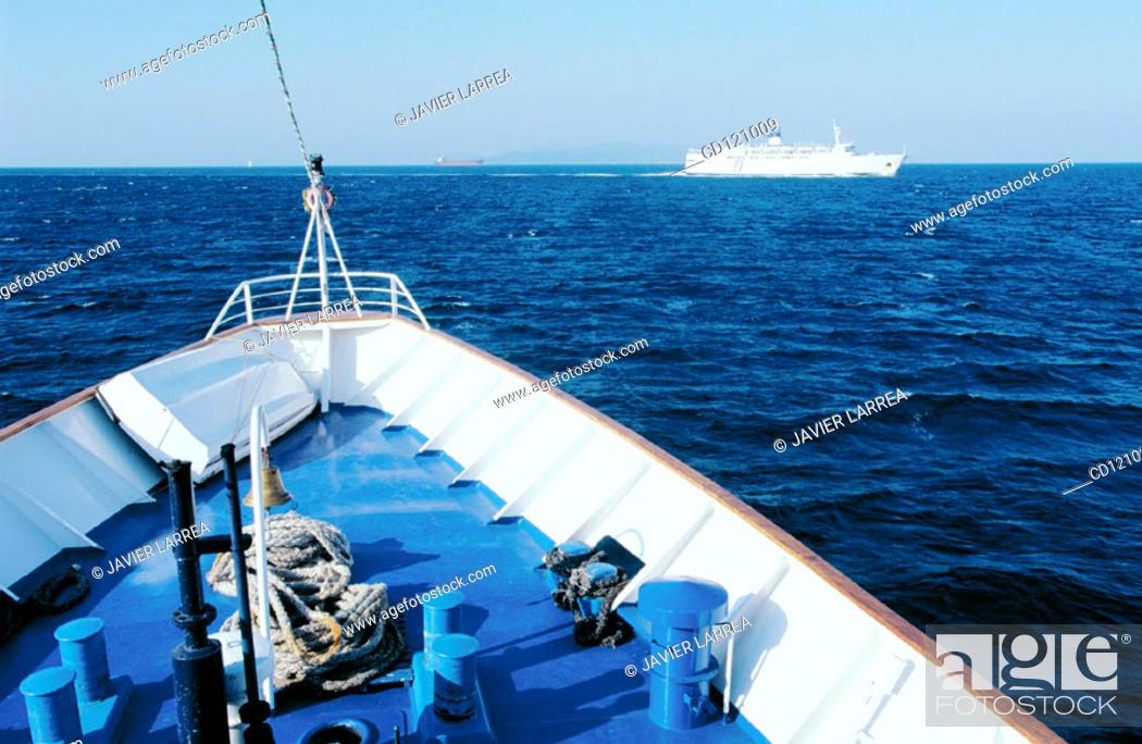 Stock Photo: Ships near Pireas port. Athens. Greece.