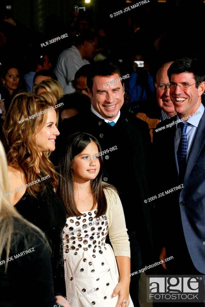 Kelly Preston John Travolta Ella Bleu Travolta At The Premiere Of Walt Disney Pictures Old Dogs Stock Photo Picture And Rights Managed Image Pic Plx 30099 082 Agefotostock