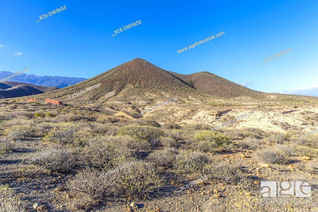 Stock Photo: Natural Monument Centinela mountain in Tenerife island (Spain).
