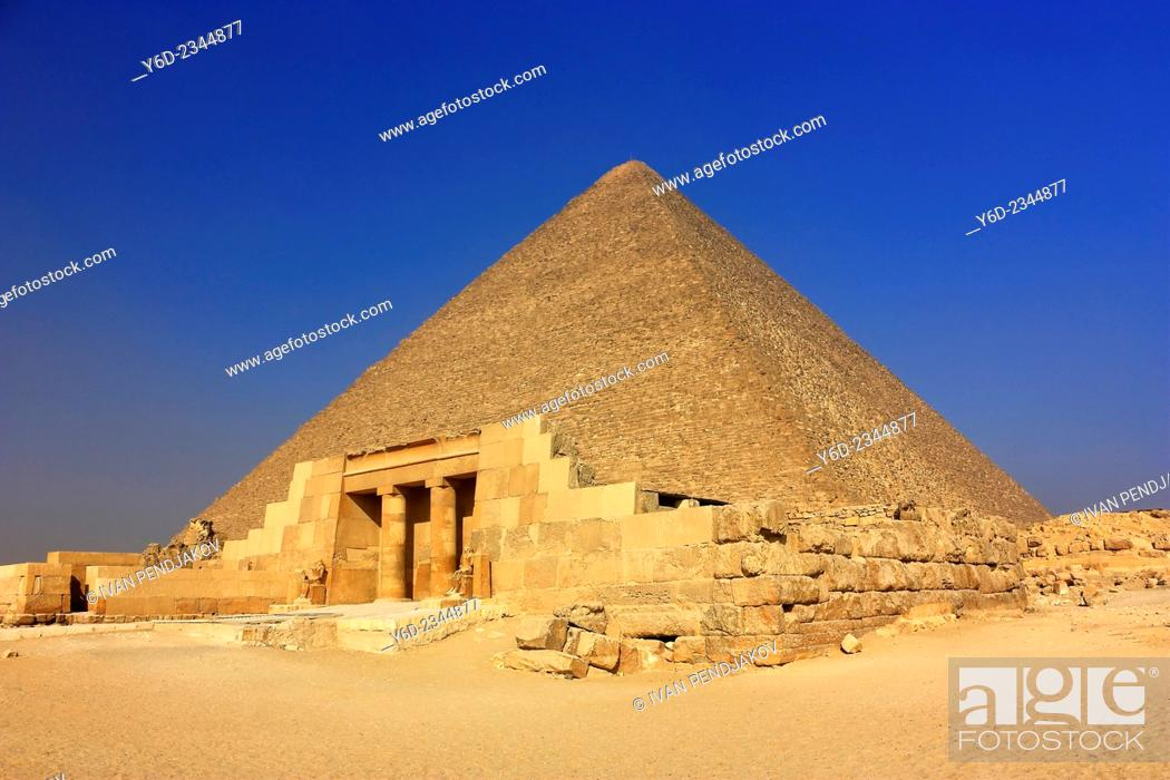 Imagen: The Great Pyramid of Cheops, Giza, Egypt.