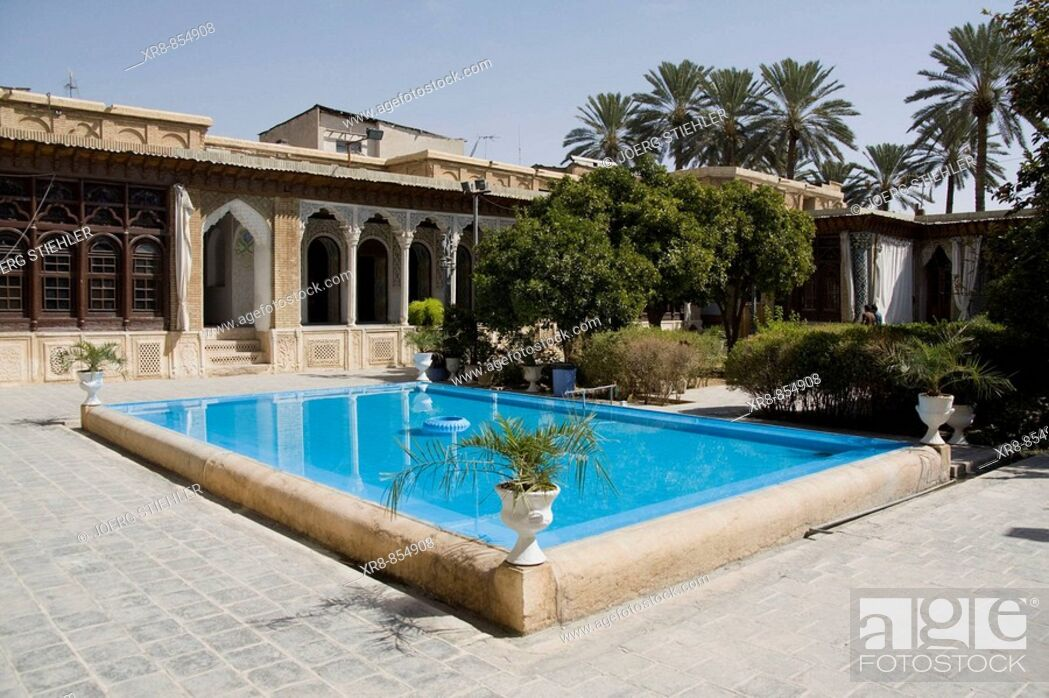 Stock Photo: Iran Shiraz Baq-e Narenjestan.
