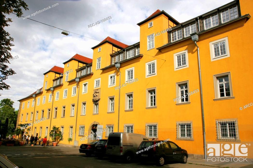 Stock Photo: Old orphanage, Stuttgart, Baden-Wurttemberg, Germany.