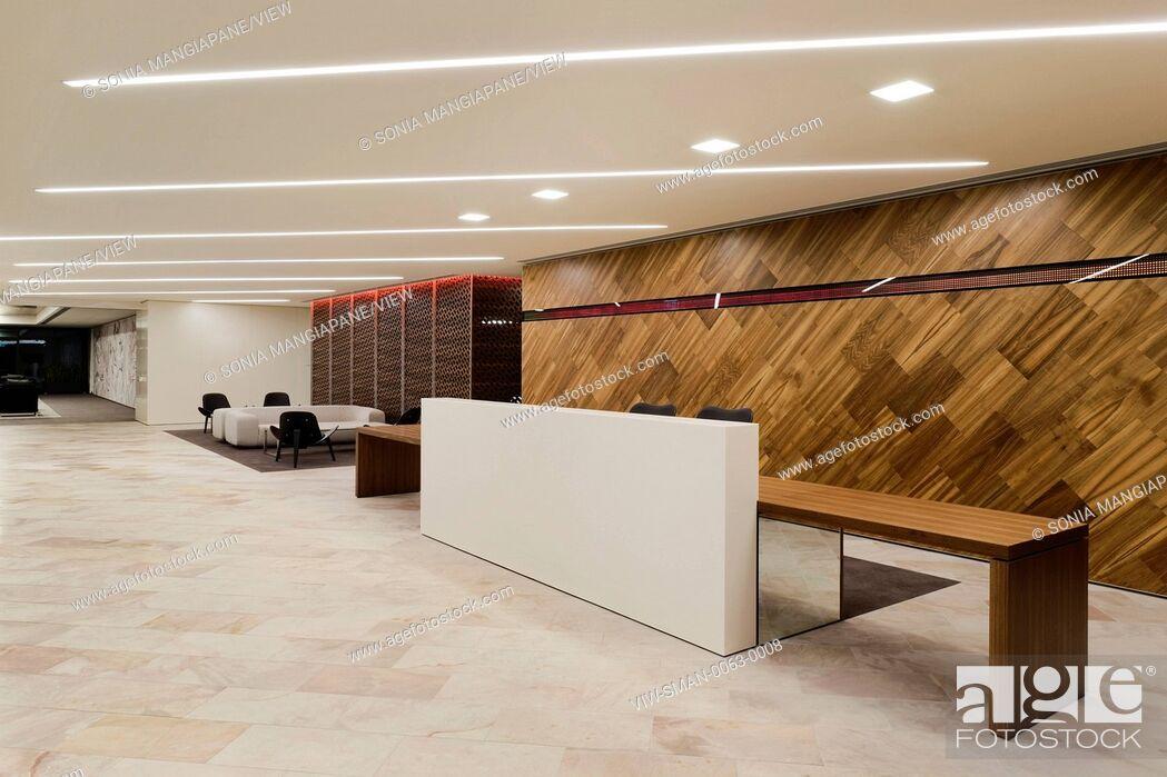 Stock Photo: Generic office interiors.