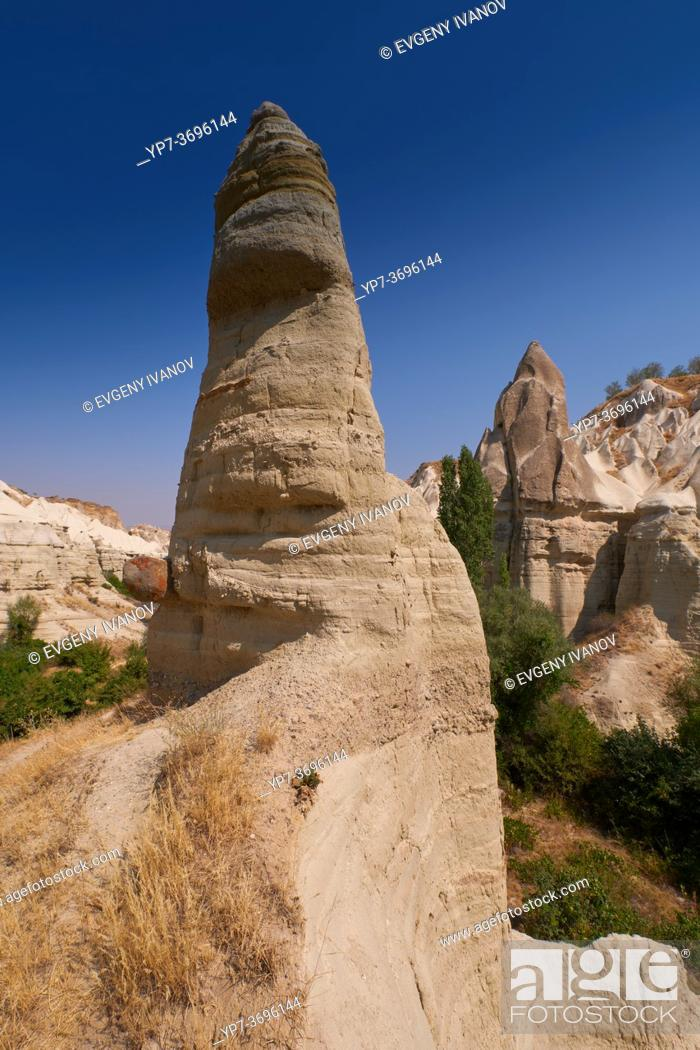 Stock Photo: Cappadocia Love Valley lanscape, Turkey.