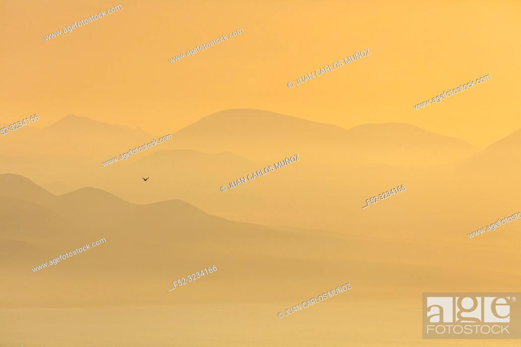 Stock Photo: View from Riscos de Famara, Lanzarote Island, Canary Islands, Spain, Europe.