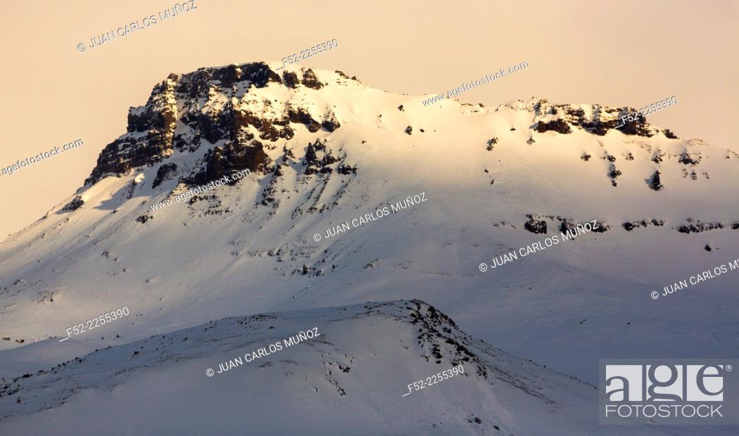 Stock Photo: Skaftafell National Park, Southern Iceland, Iceland, Europe.