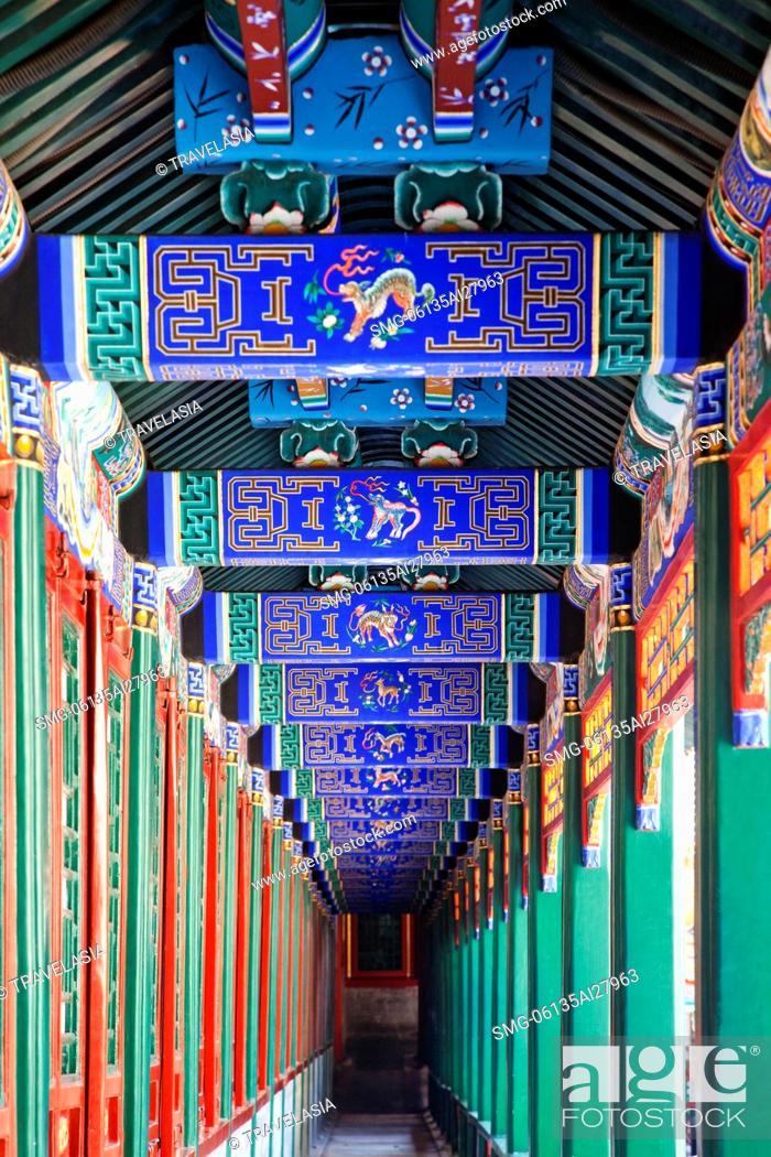 China,Beijing,The Summer Palace,Buddhist Fragrance Pavilion