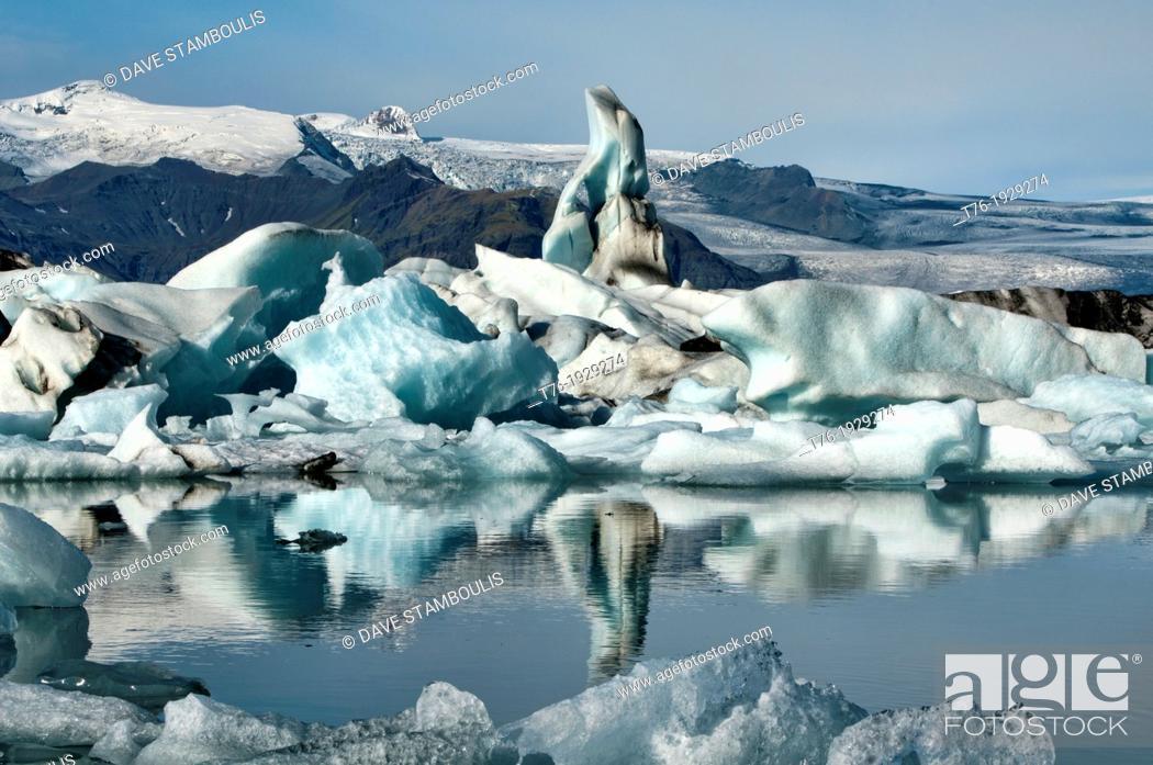 Imagen: The iceberg lagoon at Jokulsarlon in Vatnajokull National Park, Iceland.