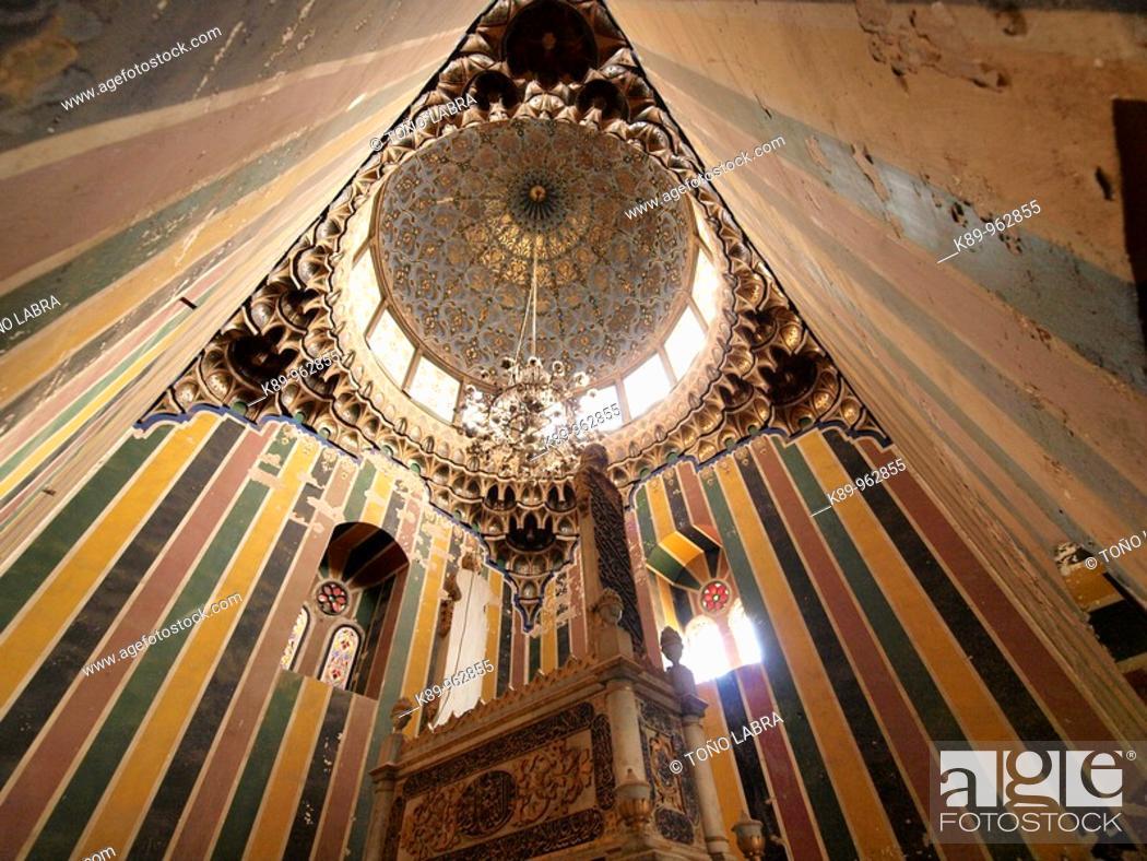 Stock Photo: Mausoleo familia Mohamed Ali, Ciudad de los Muertos, Cairo, Egipto.