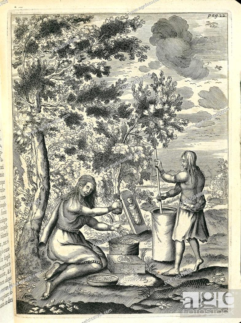 History of Exploration, Canada, 17th century  Two Iroquois