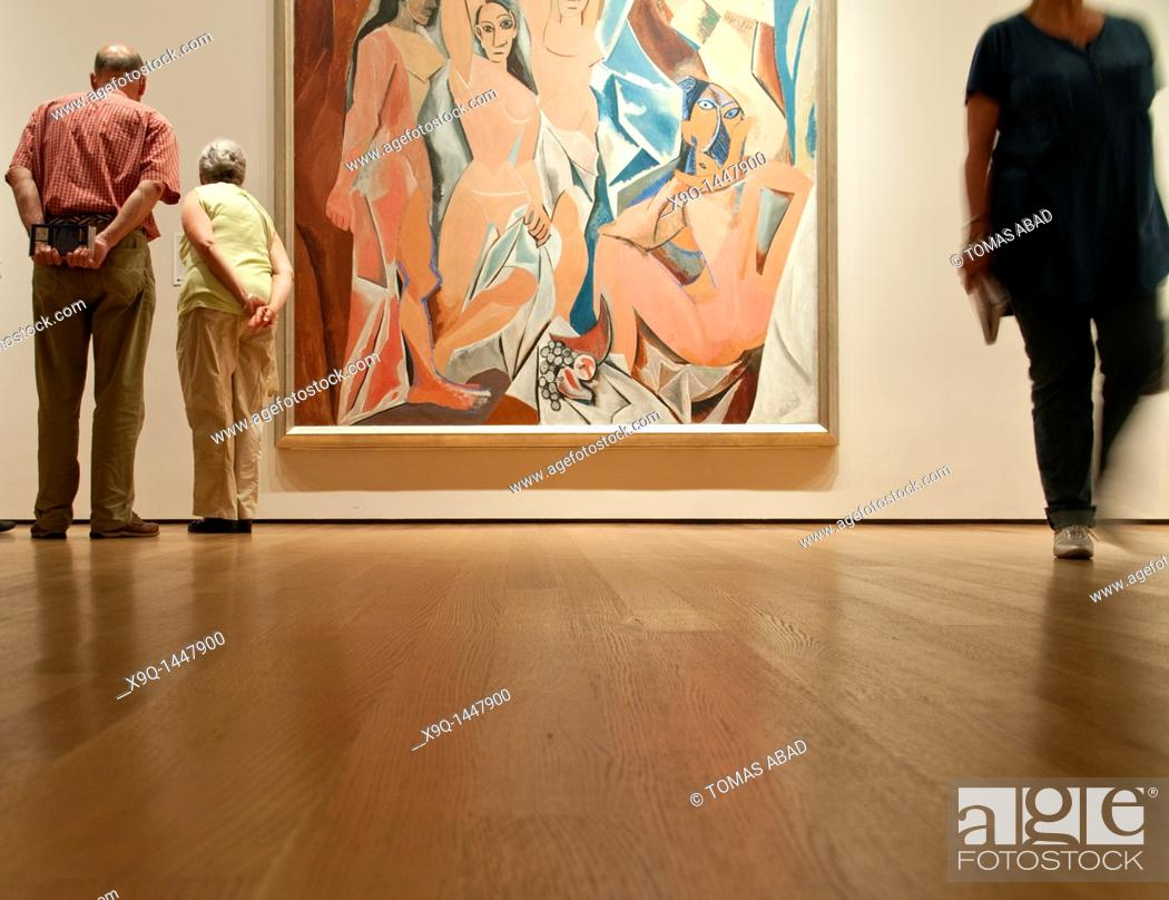 Les Demoiselles D Avignon The Young Ladies Of Avignon 1907 By Pablo Picasso Moma Stock Photo Picture And Rights Managed Image Pic X9q 1447900 Agefotostock