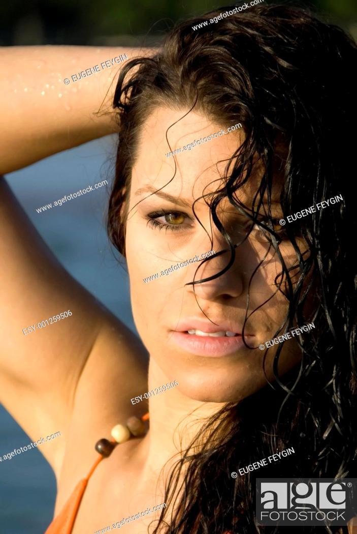 Stock Photo: Gorgeous Nikki.