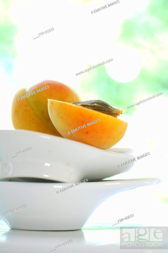 Stock Photo: Apricot.