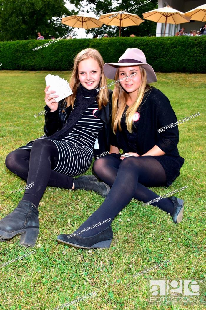 Hoppegarten ladies day Celebrities at
