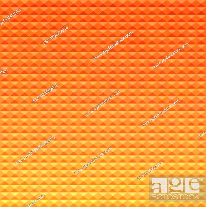 Stock Vector: Sunset Abstract Low Polygon Background.