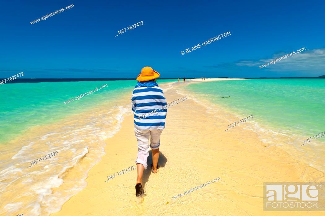 Stock Photo: Nokanhui Atoll, New Caledonia.