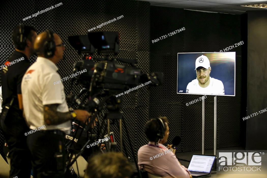 Imagen: Motorsports: FIA Formula One World Championship 2019, Grand Prix of Brazil, . #77 Valtteri Bottas (FIN, Mercedes AMG Petronas Motorsport),   usage worldwide.