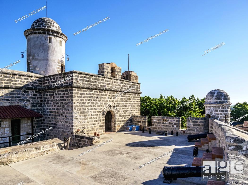 Imagen: Castillo de Jagua, Jagua Fortress, Cienfuegos, Cienfuegos Province, Cuba.