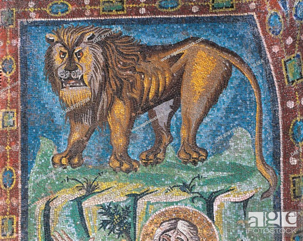 Lion The Symbol Of St Mark Detail From St Mark The Evangelist