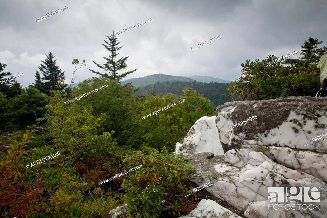 Stock Photo: Shinning Rock Wilderness Area, Pisgah National Forest, NC.