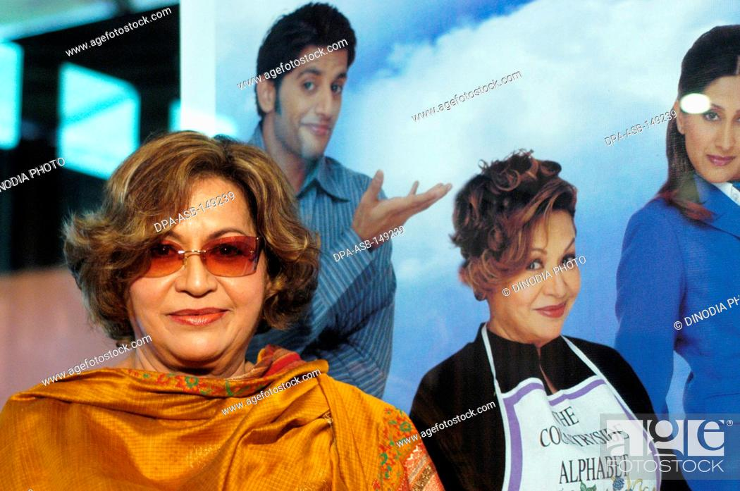 Bollywood Indian film actress Helen Richardson Khan posing for