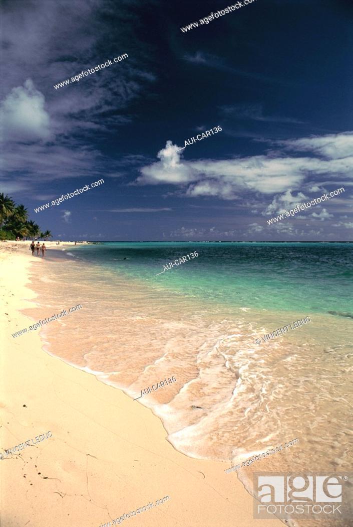 Stock Photo: French Caribbean - Caribbean Islands - Guadeloupe - Grande Terre - Islet Gosier.