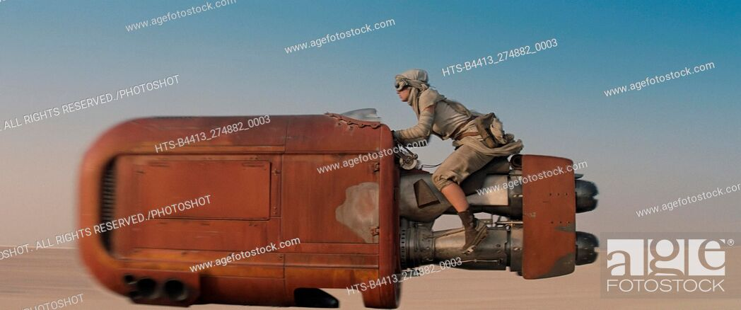 "Stock Photo: """"""Star Wars: Episode VII - The Force Awakens"""" (2015) Scene Still © 2015 Lucasfilm."