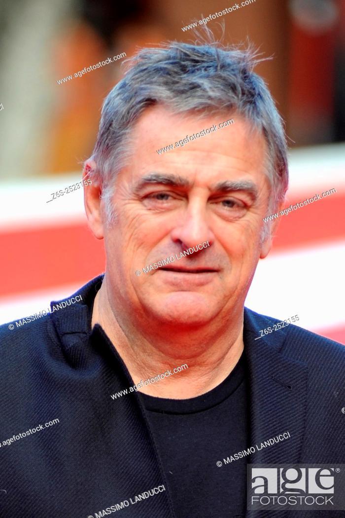Stock Photo: festa del cinema di Roma;Pascal Plisson; plisson; celebrities; director; red carpet; the big day; rome; italy;2015.