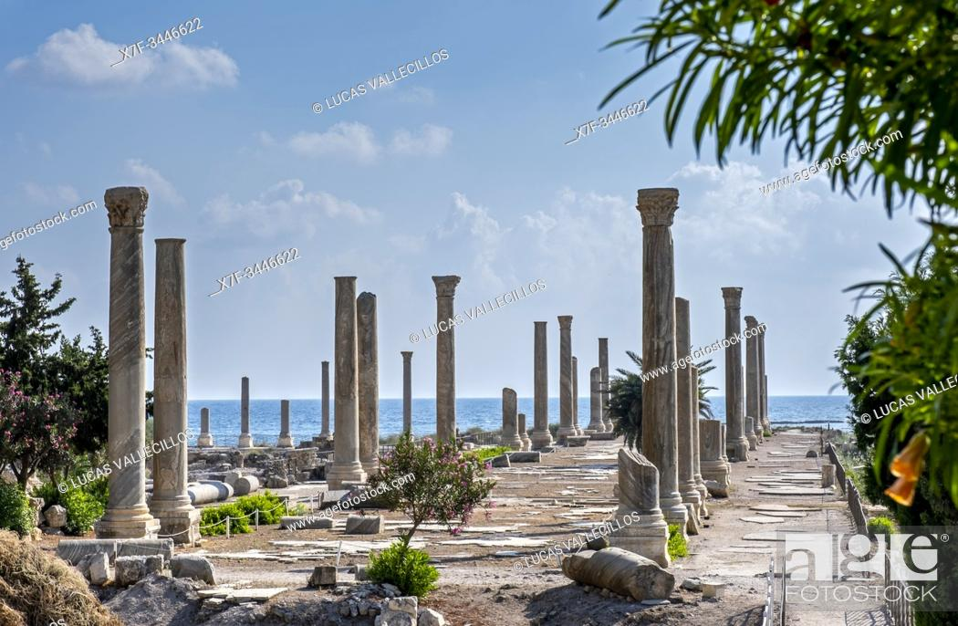Imagen: Al-Mina archaeological site, Tyre (Sour), Lebanon.