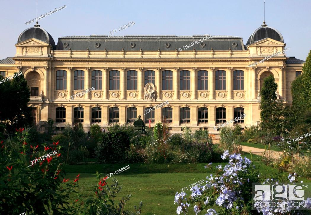 Stock Photo: France, Paris, Jardin des Plantes, botanical garden,.